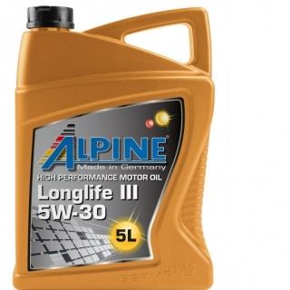 ALPINE Longlife ІІІ 5W30