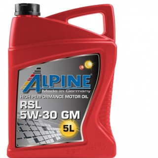ALPINE RSL 5W30 GM