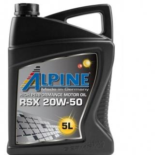 ALPINE RSX 20W50