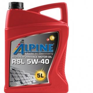 ALPINE RSL 5W40 5L
